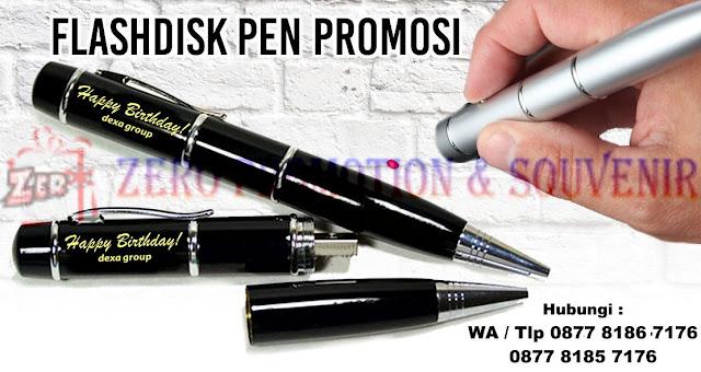 Jual USB Flashdisk Pen untuk promosi, Usb Flashdisk Pen Laser Pointer Promosi