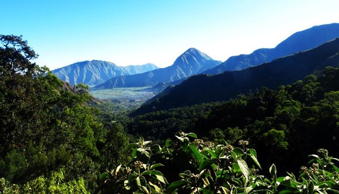 Pemandangan dari Bukit Tiga Dara