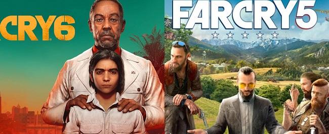 Comparison of Far Cry 6 vs Far Cry 5 vs New Dawn