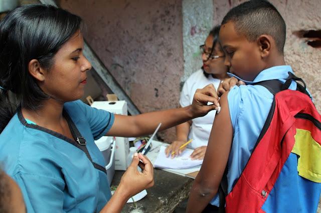 Enfermedades como el sarampión y la difteria han resurgido a un ritmo alarmante en Venezuela.