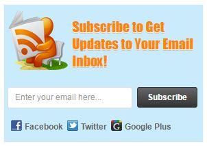 feedburner google follow by email