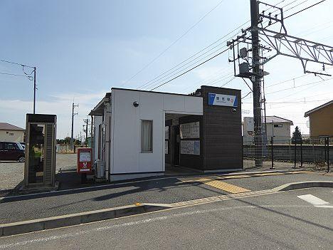 東武伊勢崎線 剛志駅舎