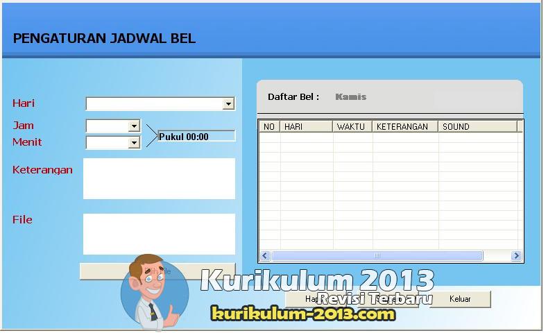 Download Software Bel Sekolah Otomatis dan Akurat Standar Internasional