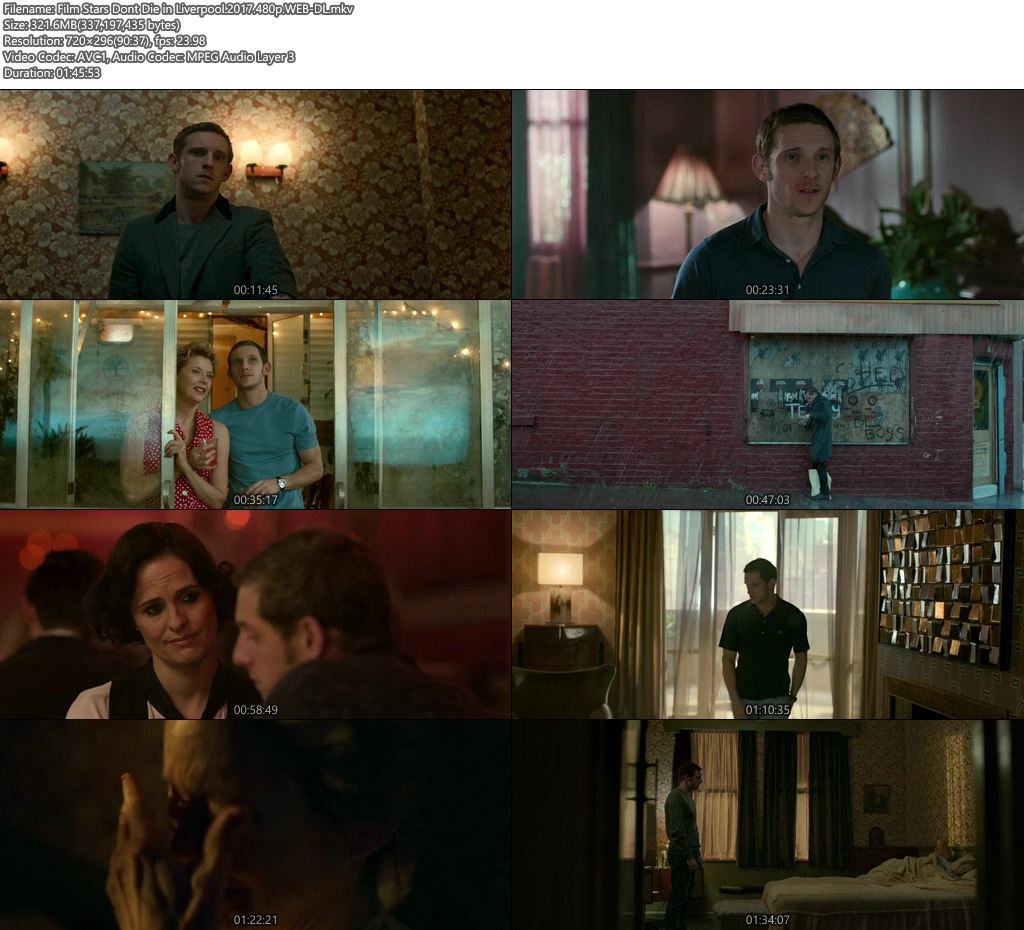 Film Stars Dont Die in Liverpool 2017 WEB-DL 720p | 300MB 480p | 100MB HEVC Screenshot