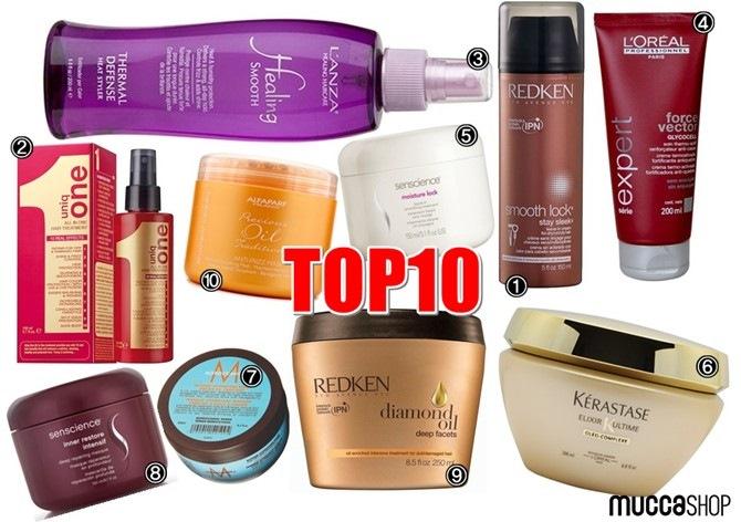 Top 10 Máscaras Nutritivas e Finalizadores MuccaShop