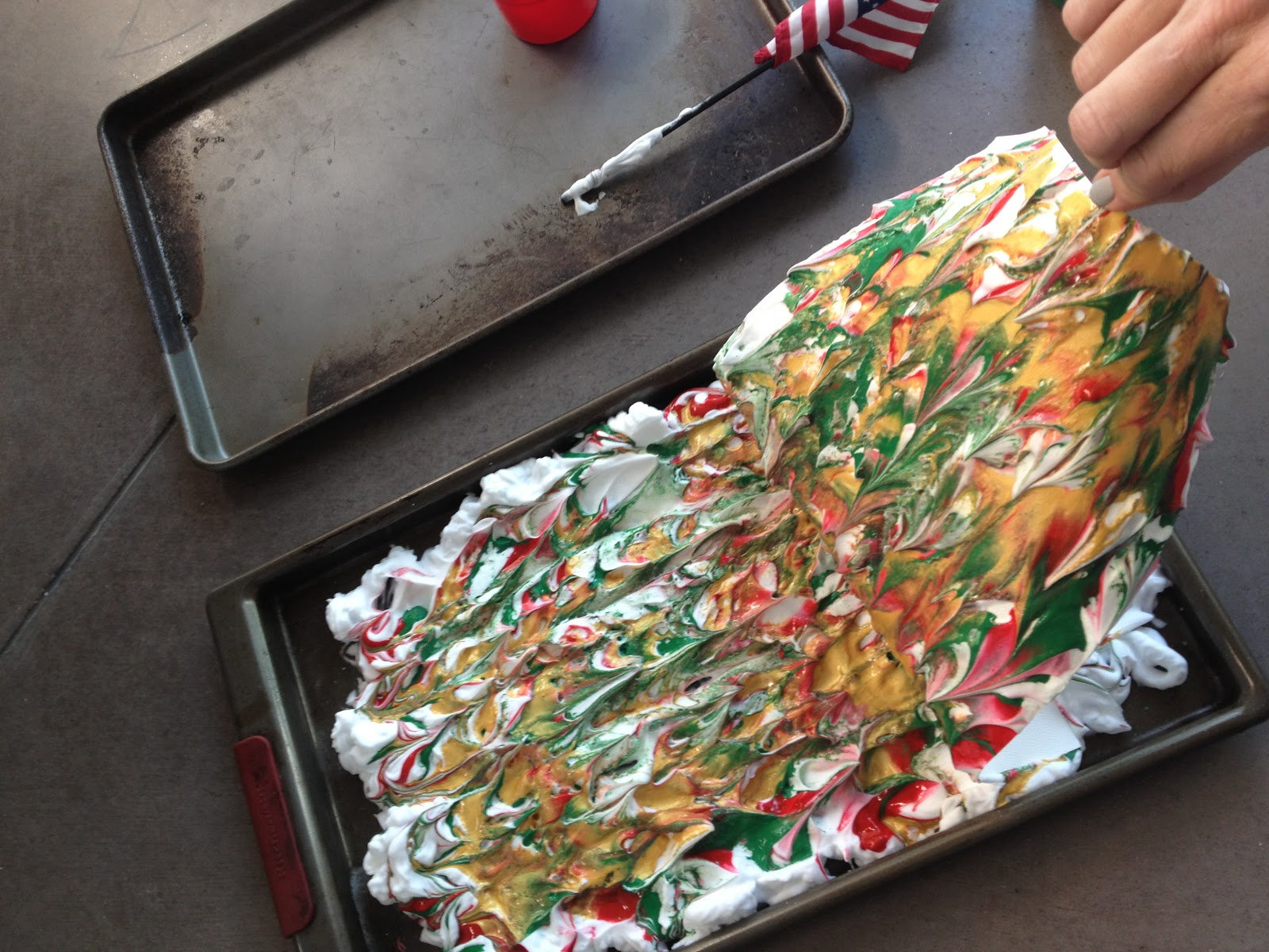 5th Grade Holiday Art Lesson