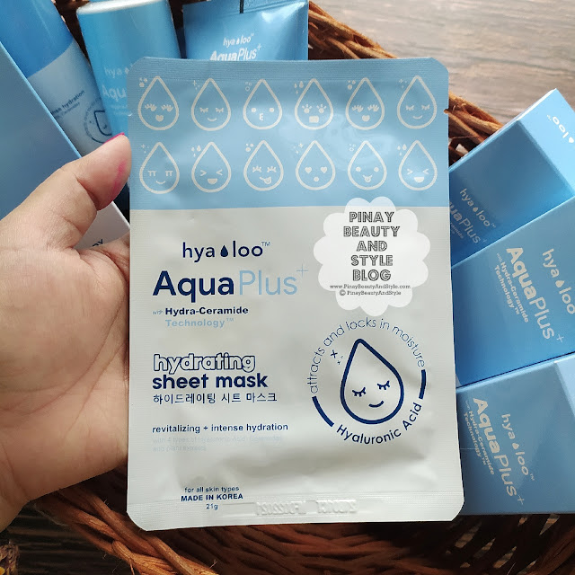 Hyaloo Aqua Plus Hydrating Sheet Mask Price Review