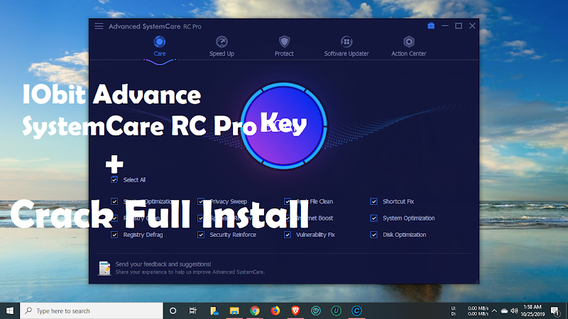 Advanced systemcare PRO 13.1 , free key, free download, 2020, 2020 key