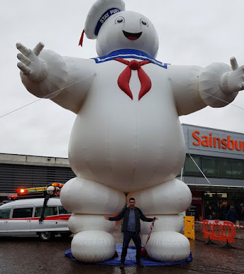 Stay Puft Marshmallow Man in Urmston