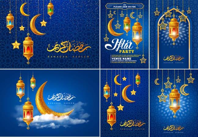 Ramadan Kareem 2021 Vector Template Pack