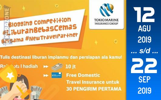 Kompetisi Blog - #LiburanBebasCEMAS Berhadiah Total Uang Tunai 10 Juta Rupiah