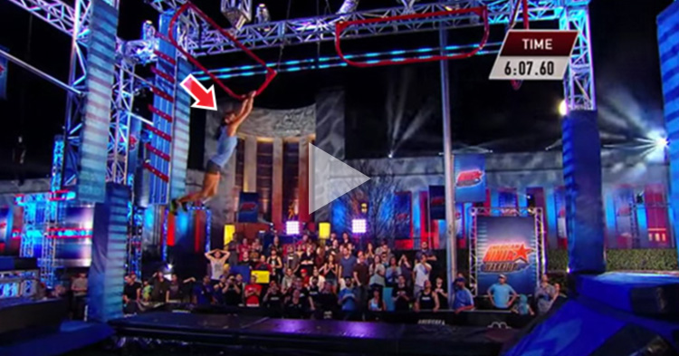 The First Woman to Complete the American Ninja Warrior Qualifying Course