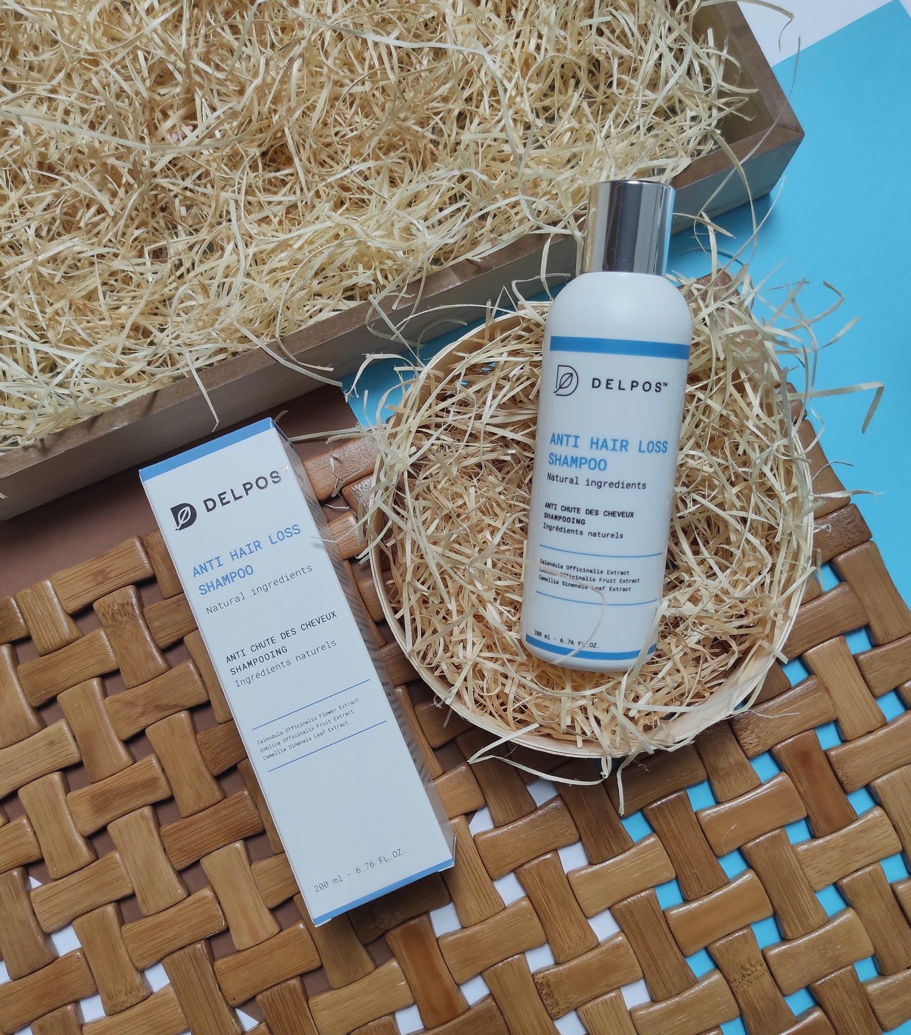 Delpos Anti hair loss shampoo - szampon przeciw wypadaniu włosów 200 ml.