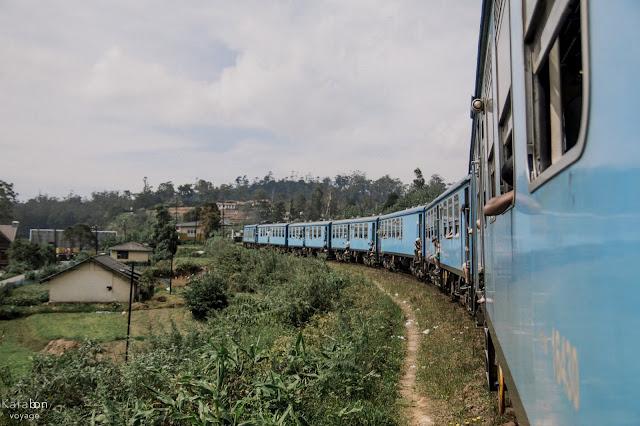 pociąg, Sri Lanka