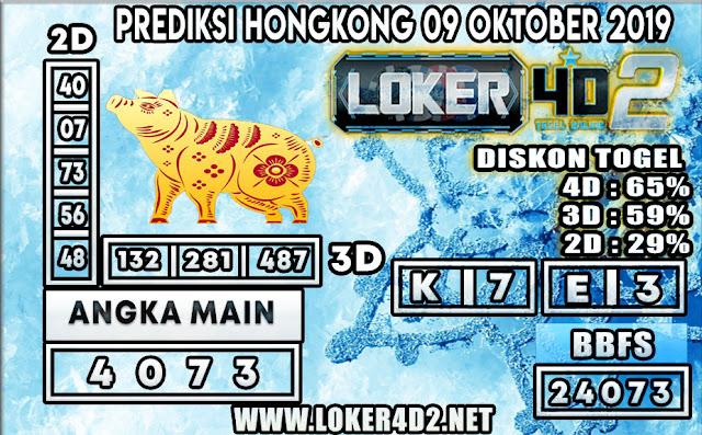 PREDIKSI TOGEL HONGKONG POOLS LOKER4D2 09 OKTOBER 2019
