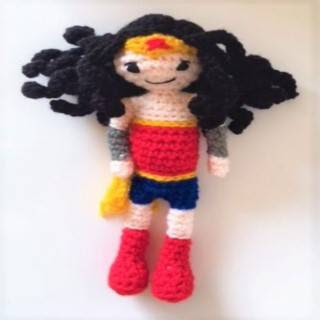 PATRON WONDER WOMAN AMIGURUMI 29171