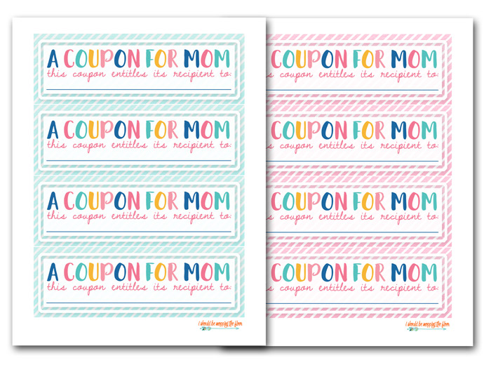 Free Mother S Day Coupons To Print I Should Be Mopping The Floor