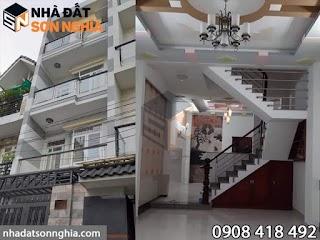 Bán nhà lầu Gò Vấp đường Nguyễn Tư Giản phường 12 - 4x17 đúc 4 tấm giá 5,7 tỷ ( MS 055 )