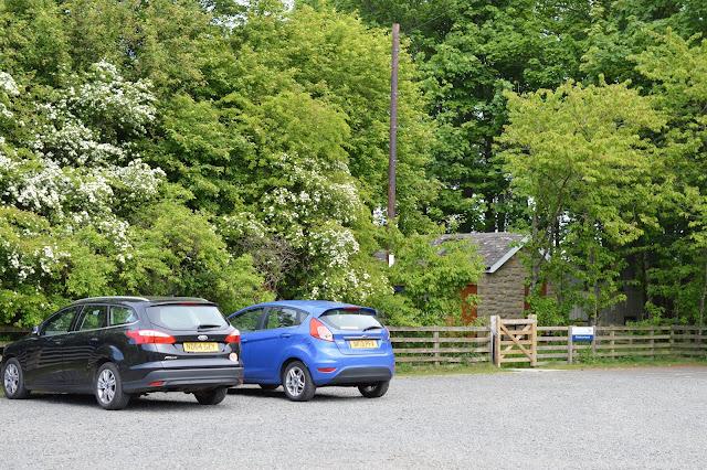 A Family BBQ at Ingram Valley, Northumberland National Park  - car park