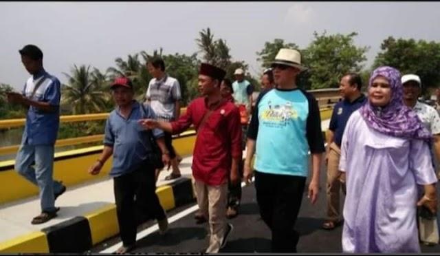 Tersiar Kabar Jembatan Tersaba Lontar Ditutup, Gubernur WH Langsung Datang