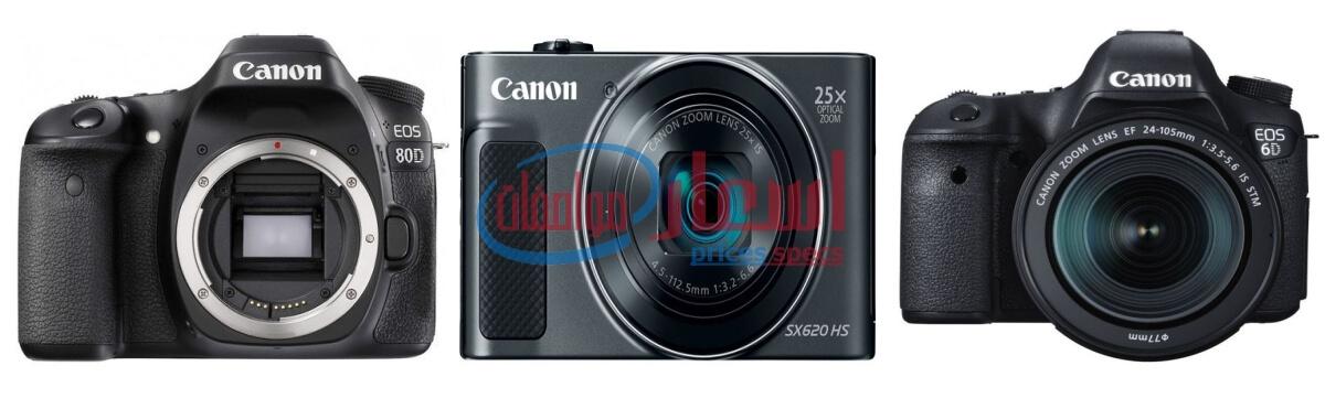 اسعار كاميرات كانون 2020
