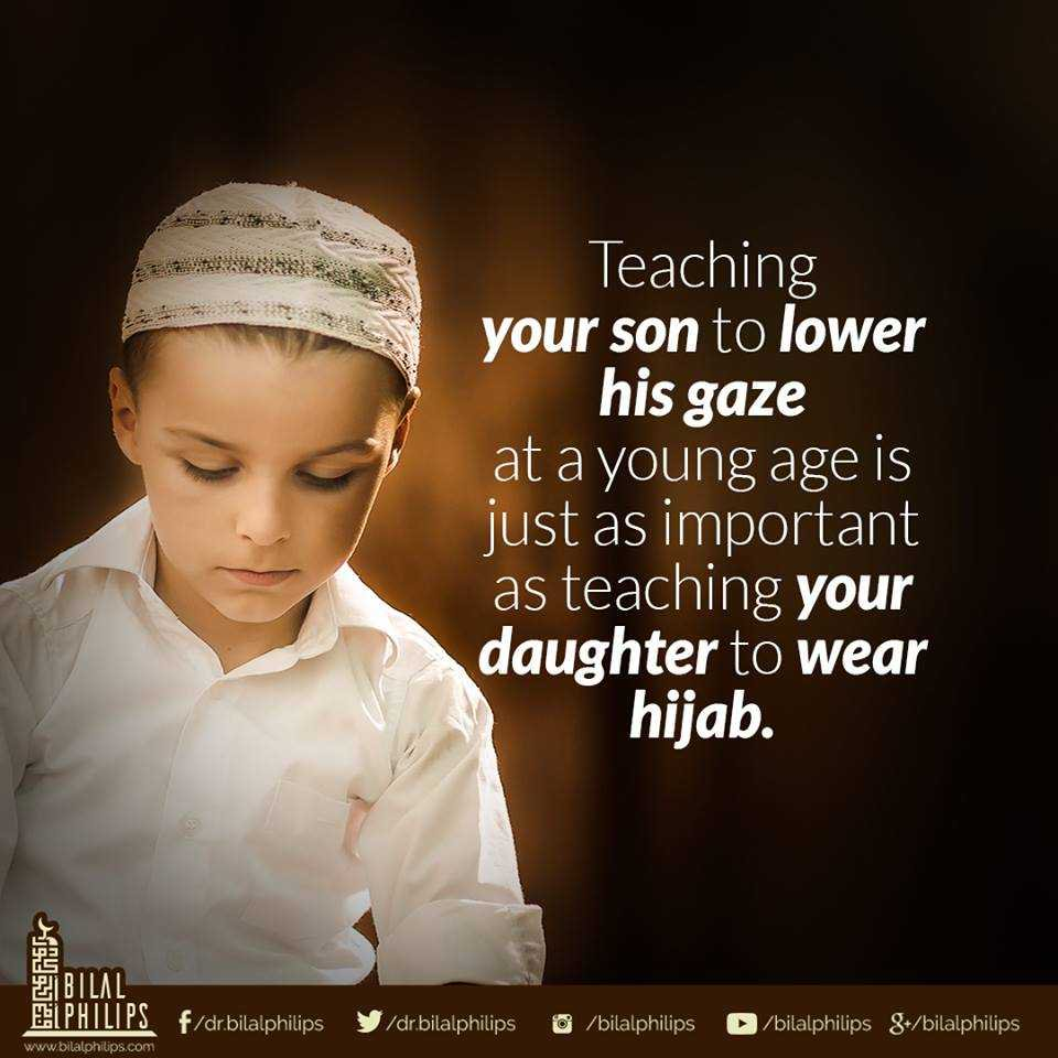 Hijab For Men, Women, Child, Teach Your Child About Hijaab, EduIslam, Islamic Online University