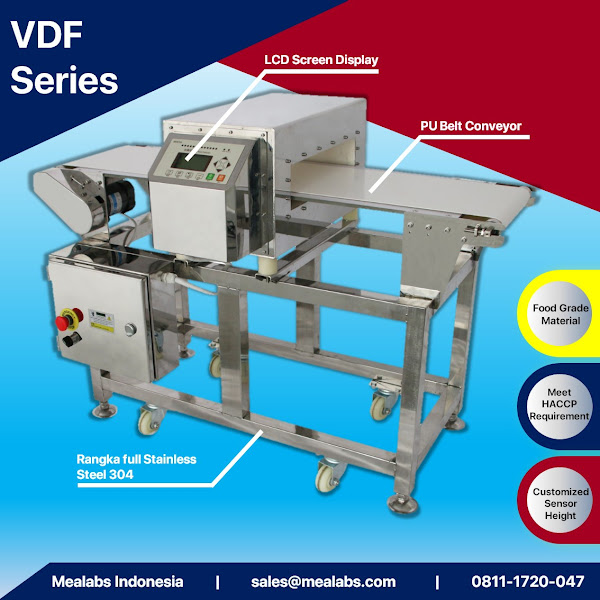 VDF Series Conveyorised Metal Detector