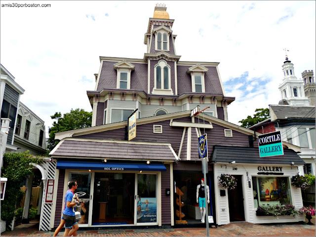 Comercios y Galerías de Arte en Provincetown, Cape Cod