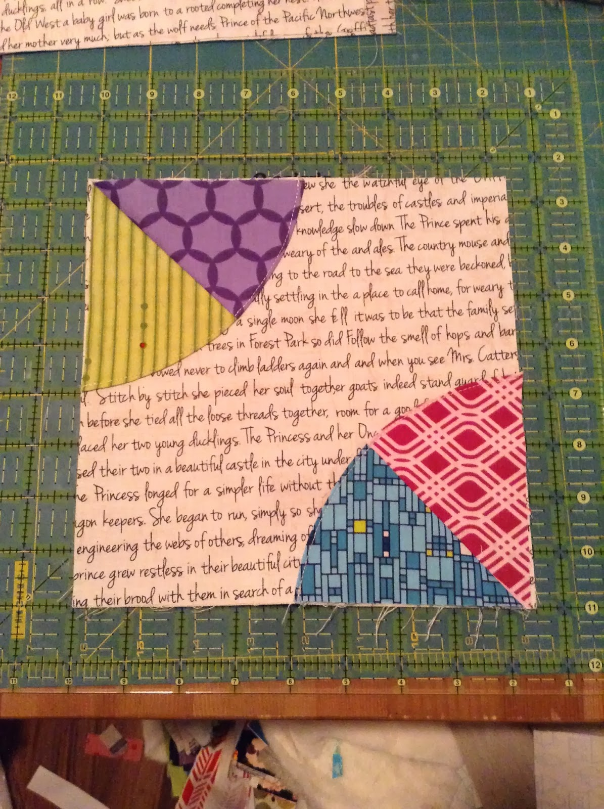 Slice of Pie Block - photo from Lethargic Lass