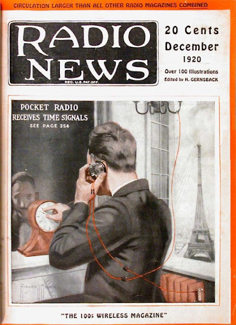 Radio Amateur News Magazine Covers 1920 Vintage Everyday