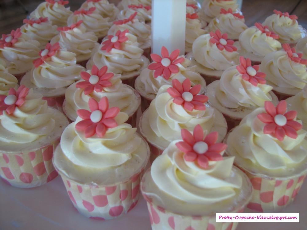 Wedding Cake Cupcake Ideas: Pretty Cupcake Ideas