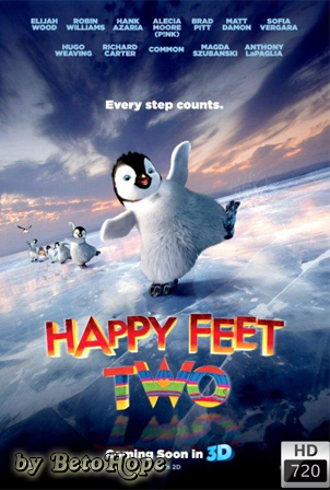 Happy Feet 2 [720p] [Latino] [MEGA]