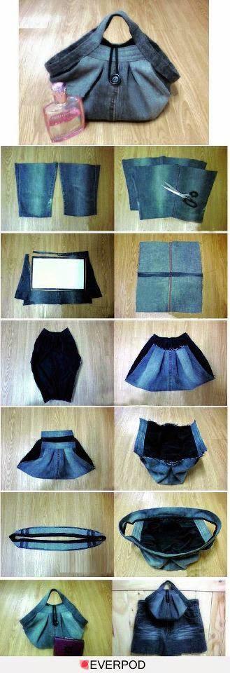 81f241a08f 5 Ideas para reutilizar unos pantalones de mezclilla (jeans ...
