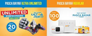 Paket Internet BOLT!! 4g Kini dengan Kuota Unlimited Sepuasnya Tanpa Syarat FUP