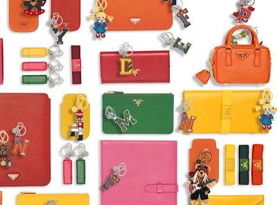 Christmas Gift Idea #6: Prada Keyfobs & SLGs For Men & Women
