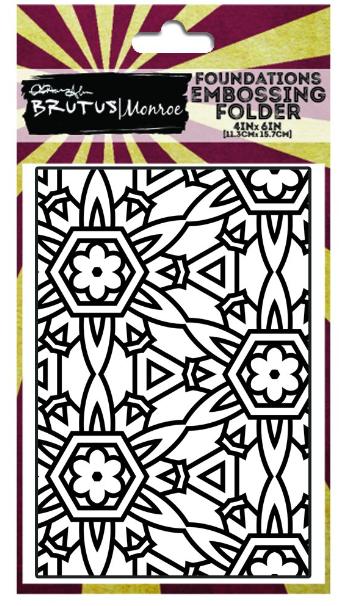Embossing Folder - Floral Burst