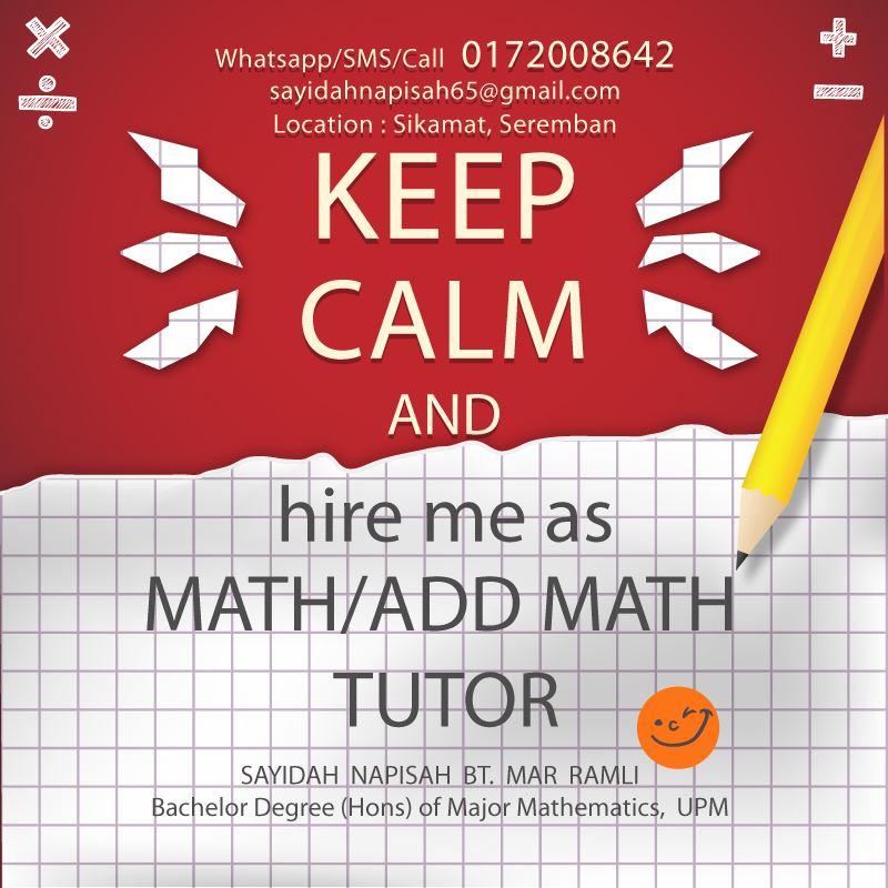 kelas tusyen matematik addmath