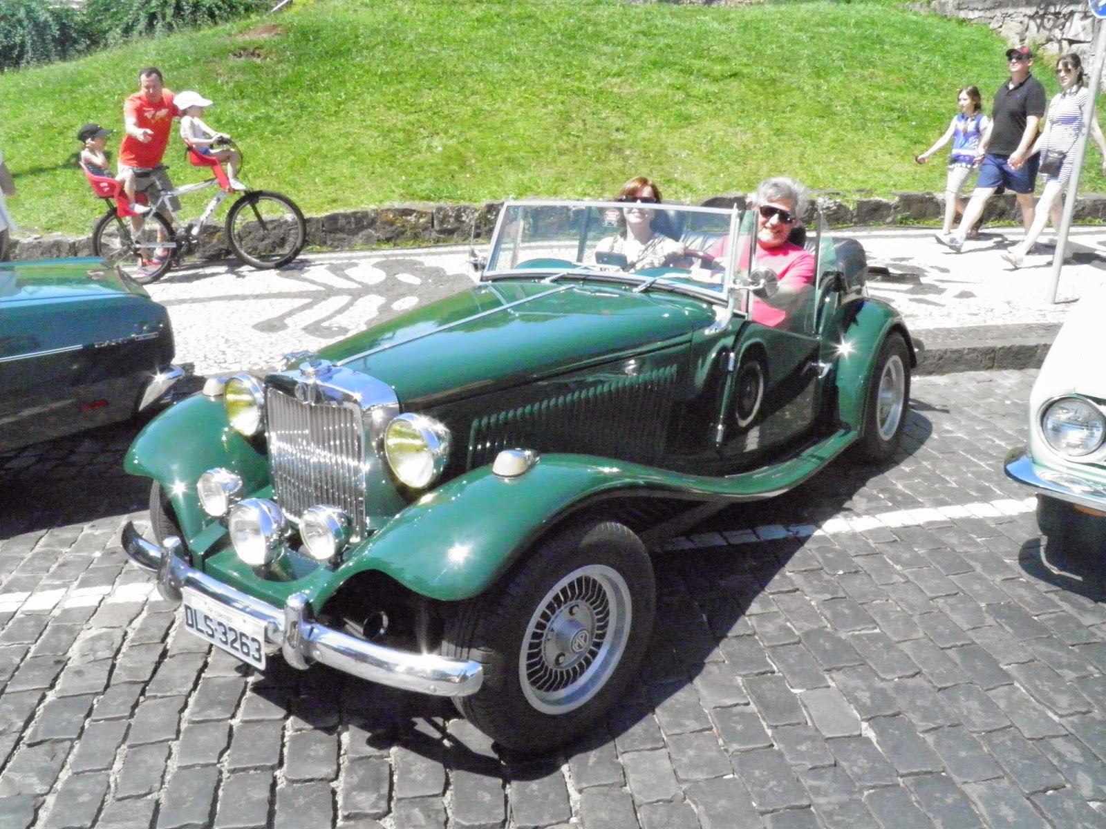 Exposição de carros antigos - Centro Histórico de Curitiba