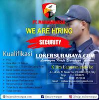 We Are Hiring at PT. Mahawangsa Surabaya Terbaru November 2019