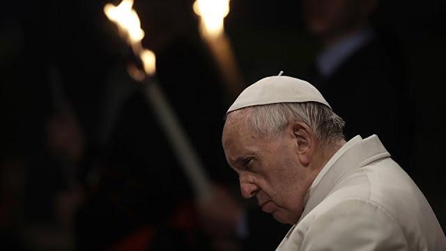 Молитва папы римского о прекращении коронавируса
