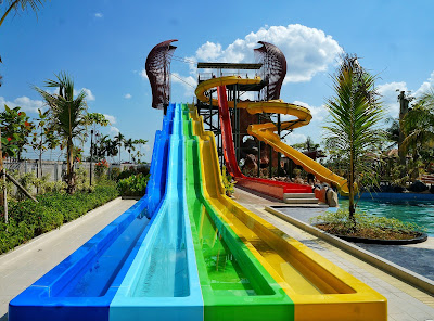 Race Water Slide Paradis-Q