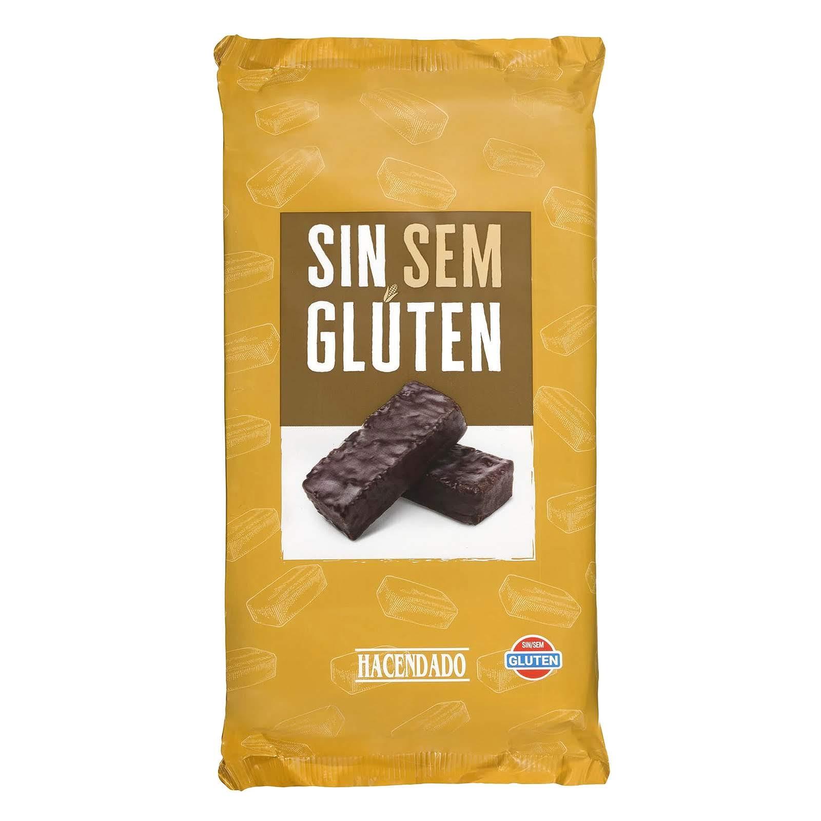 Bizcochos de chocolate sin gluten Hacendado