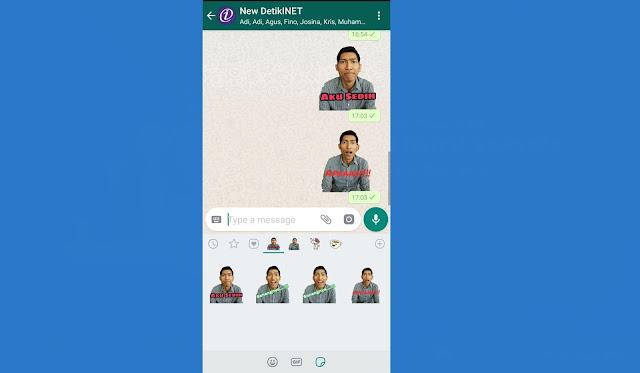 Cara Membuat Stiker Whatsapp Dengan Foto Sendiri Netpelajar