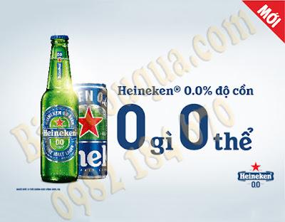 Bia Heineken 0 độ cồn