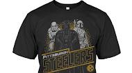 Pittsburgh Steelers Junk Food Empire Star Wars T-Shirt