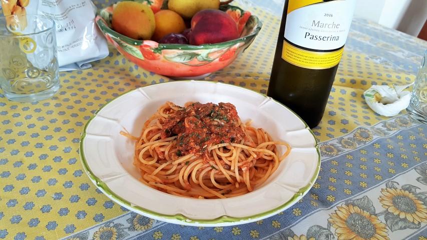 spaghi al tonno