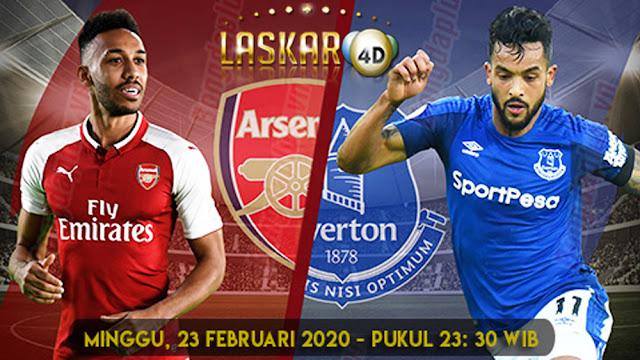 Prediksi Pertandingan Arsenal Vs Everton 23 Februari 2020