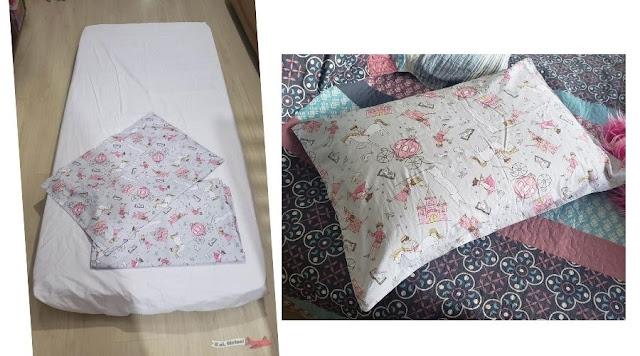 Como fazer jogo de lençol