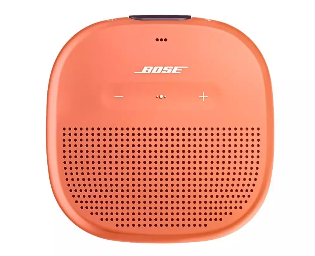 Bose Soundsport Free Earbuds And Soundlink Micro Wireless Earphone Orange Is The Companys Latest Small Speaker Maded A That Delivers Crisp Balanced Sound Unmatched Bass For Its