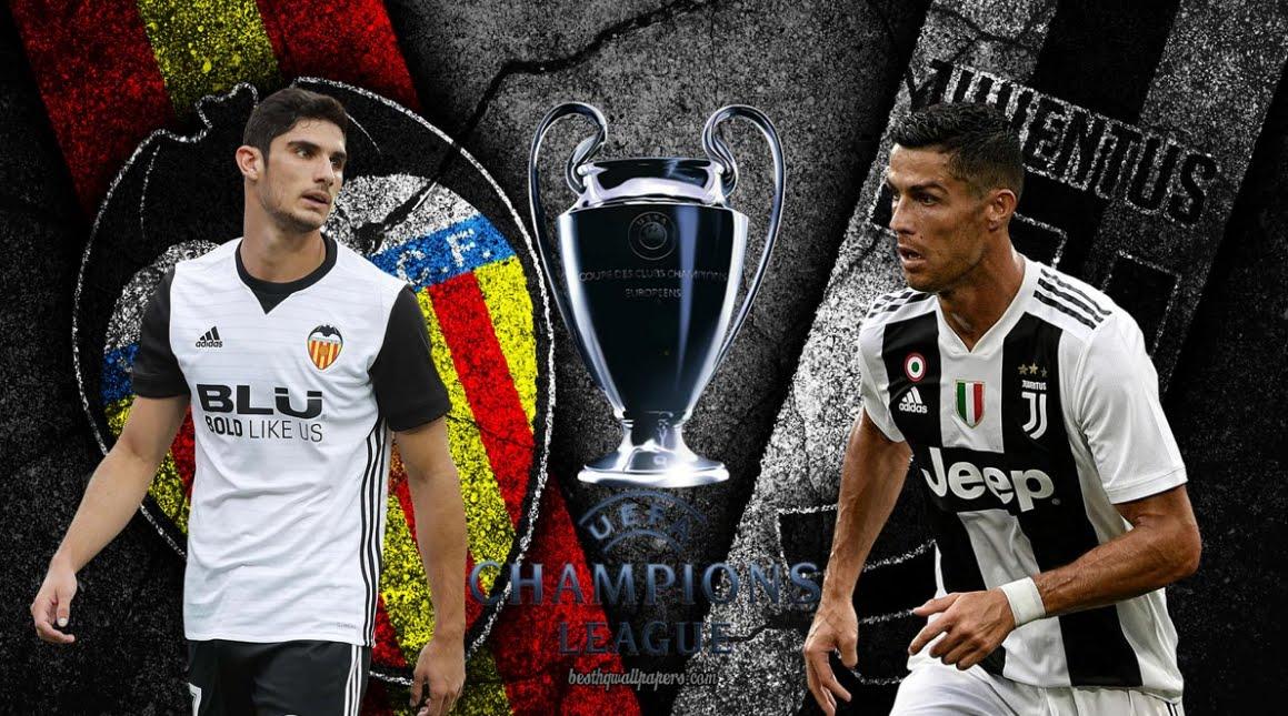 DIRETTA Valencia-JUVENTUS Streaming Gratis per gli abbonati Sky | Champions League 2018-2019